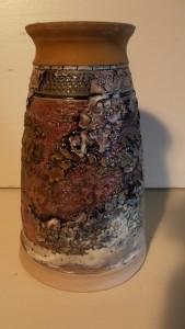 1 vase h 18 cm dia 7 cm